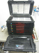 Pelican 0450 Tool Case/armstrong General Mechanics Military W/trays   3