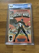 Secret Wars 8 Cgc 9.8 White Pages First Black Suite Spider-man Appearance Nm/mt