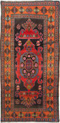 Vintage Hand-knotted Carpet 4and0396 X 9and0395 Traditional Oriental Wool Area Rug