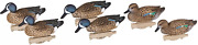 Flambeau Outdoors 8016suv Storm Front 2 Blue-winged Teal Decoys, Classic...