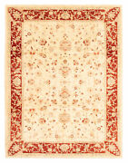 Traditional Hand-knotted Oriental Carpet 9and0391 X 12and0390 Area Rug In Cream