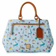 Disney Food And Wine Festival Beauty And The Beast Dooney And Bourke Zip Satchel New