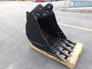 New 24 Backhoe Bucket For A John Deere 410c With Coupler Pins