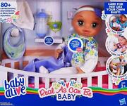 Baby Alive Real As Can Be Baby Doll Brunette Sculpted Hair New In Box