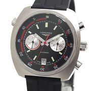 Longines Heritage Automatic L2.796.4.52.9 Chronograph Date Menand039s Watch Wl34921