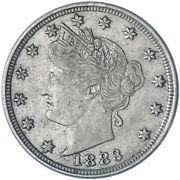 1883 Liberty V Nickel With Cents Extra Fine Xf See Pics L708