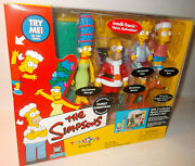 The Simpsons Christmas Family Interactive Environment Toys R Us Exclusive