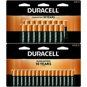 Duracell Coppertop Aa And Aaa Batteries 16 Aa And 16 Aaa In Total Exp 2030