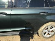 Driver Rear Side Door Privacy Tint Glass Fits 15-18 Edge Green 4288270