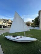 Amf Alcort Sunfish Sail Boat With Trailer Very Nice