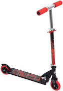 Huffy Star Wars Darth Vader Empire Kids Folding Inline Foot Kick Scooter With