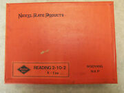 Nickel Plate Products Ho Brass Reading K-1 2-10-2 Santa Fe Type Engine And Tender