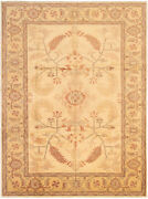 Vintage Hand-knotted Carpet 9and0394 X 12and0396 Traditional Oriental Wool Area Rug