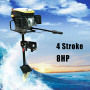 4-stroke 8.0 Hp Heavy Duty Outboard Motor Boat Engine 4.0kw W/air Cooling System
