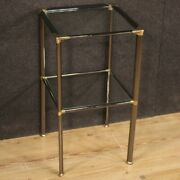 Small Table Furniture Of Design In Metal And Glass For Living Modern Vintage