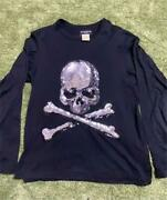 Mastermind Japan Skull Sequins T-shirt Men M Tops Initial Rare From Japan Used