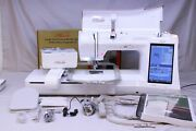 Mint Babylock Ellisimo Gold Sewing Quilting And Embroidery Machine W/ 3 Upgrades