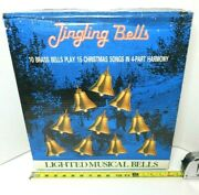 Vintage Mr Christmas 10 Lighted Musical Jingling Bells - 15 Songs Tested And Works