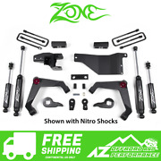 Zone Offroad 3 Adventure Series Uca For 01-10 Chevy Gmc 2500 3500 Suv C32n