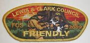 Boy Scout Lewis And Clark Council 2009 Friendly Fos First Issue Csp