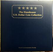 The Eisenhower Us Dollar 21 Coin Collection, Postal Commemorative Society