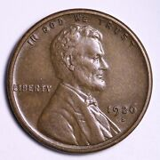 1926-s Lincoln Wheat Cent Penny Choice Au Free Shipping E517 Xez