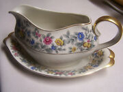 Meito Norleans China Grayson Gravy Boat, Made In Occupied Japan Nice