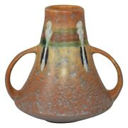 Roseville Pottery Montacello 1931 Tan Arts And Crafts Vase 579