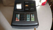 Sharp Xe-a106 Electronic Cash Register No Operating Key, For Parts Not Working