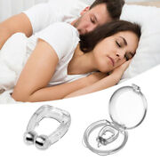 1pcs Magnetic Anti Snore Stopper Nose Clip Stop Snoring Aid Device Sleep New