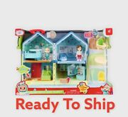 Cocomelon Jj Deluxe Family House Playset Toy 11 Pc Sounds Song Figures 2021 New