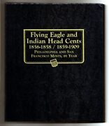 Indian Head Flying Eagle Cent Complete Collection 1857-1909 + 200 Bonus Coins
