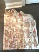 Pottery Barn Lit Gnome Advent Calendar2021-sold Out On Line Get It Here Now-nib