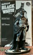 Batman Black And White 7.5 Statue Tony Cipriano Hand Painted Porcelain Numbered