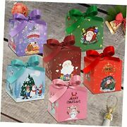 Gift Box 24 Pcs Christmas Boxes 4 X 3.5 X 3.5 Inches3d Small Gift Boxes With