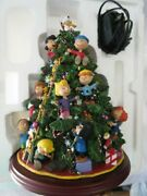 Danbury Mint The Peanuts Christmas Tree With Working Lights, Boxed, Excellent