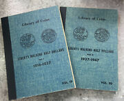 1916 - 1947 Full Walking Liberty Silver Half Dollar 65 Coins 1916d 1921 And D