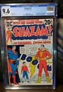 Shazam 1 Cgc 9.6 Nm+ First Captain Marvel And Family Appearance Dc White Pages