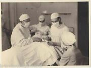 Chief Of Surgery Wwii Germany Us Soldiers Vintage Medical Snapshot Photos Lot