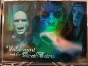 Harry Potter- Voldemort And The Death Eaters Holographic Foil Insert Rare R4