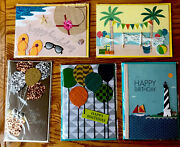 Papyrus Birthday Cards-lot Of 5-free Shipping