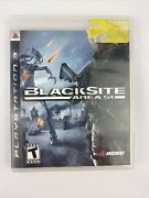 Black Site Area 51 - Sony Playstation 3 Ps3 No Manual - Tested