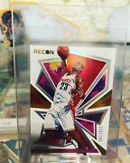 Lebron James 2020-21 Recon Rookie Review Red /199
