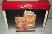 8623 Rare Retired Nrfb Lemax Dickensvale Apothecary Genovese Drug Store