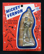 1956 Big League Stars Statues Mickey Vernon Red Sox With Original Packaging