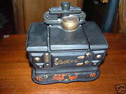Authentic Mccoy Stove/oven Ceramic Cookie Jar - Reduced