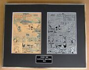 Porky Pig Vintage Printing Plate And Cover Page