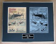 Porky Pig Vintage Printing Plate And Comic Title Page