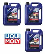 Lubro Moly High-tech Full Synthetic Motor Oil 15-liters