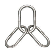 Stainless Master Link W/legs For Chain Slings 1 2 X Legs 3/4 S0652-0025
